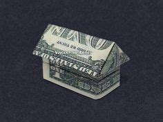 Dollar Bill Origami House - money origami on money origami dollar bill