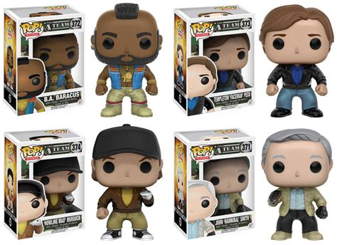 a team figures the a team pop vinyl figures by funko actionfiguresdaily