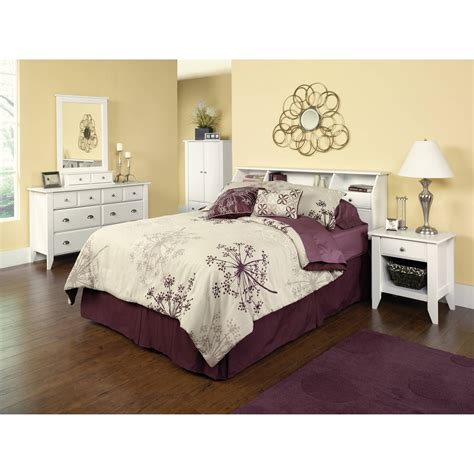 bookcase headboard bedroom sets storage bedroom furniture white full queen headboard
