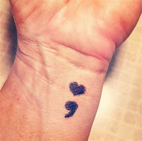summer trend semicolon tattoo ntattoodesigns endless tattoos