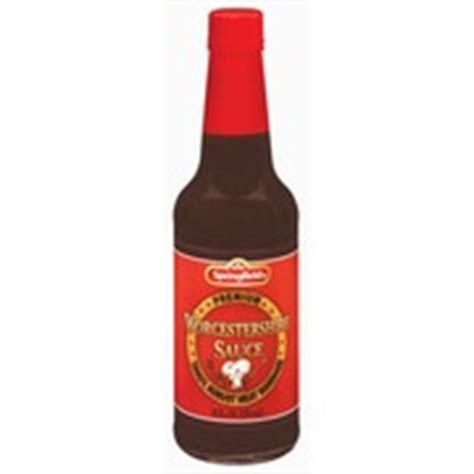 Shelf Worcestershire Sauce by Springfield Marinade Worcestershire Sauce Calories