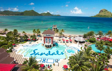 st lucia sandals resorts sandals to add three new restaurants at lucia resort