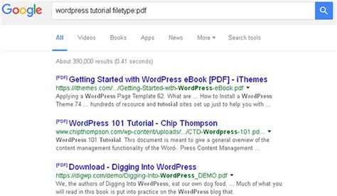 tutorial wordpress filetype pdf 15 fitur rahasia google mungkin belum anda ketahui