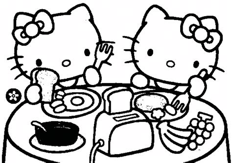 hello kitty mimmy coloring pages a tavola disegni da colorare gratis disegni da colorare