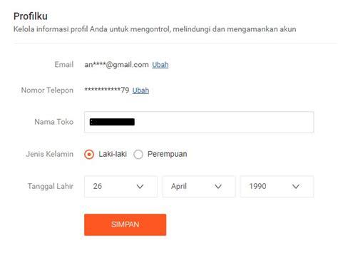 Email Shopee   cara daftar dan buka toko di shopee portal uang