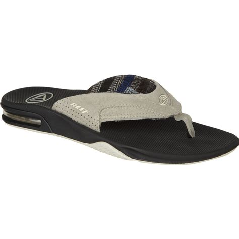 reef fanning flip flops reef fanning lux flip flop men s backcountry com