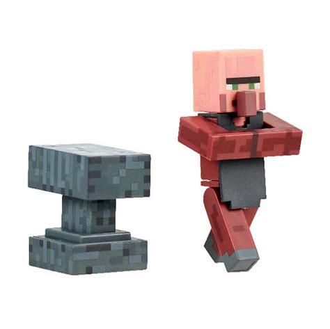 Minecraft Figure Villager minecraft blacksmith villager pack 3 inch figure