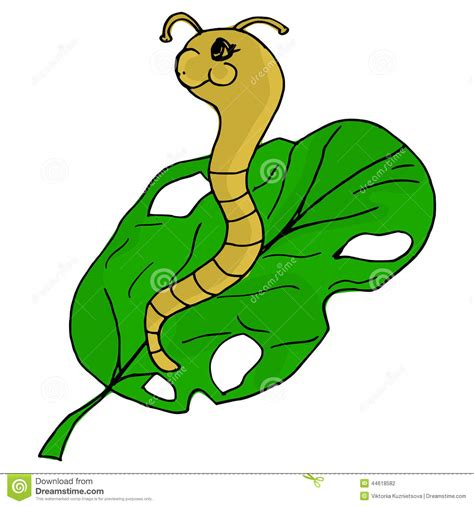 how to create worm in doodle worm stock vector image 44618582