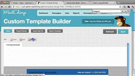 mailchimp template tutorial mailchimp custom email template tutorial