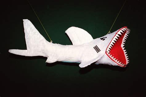 How To Make A Paper Mache Shark - shark pi 241 ata boy
