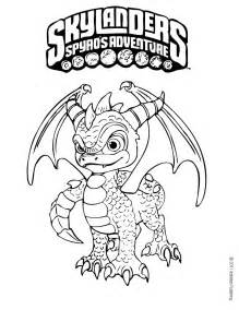 skylanders coloring pages spyro coloring pages hellokids