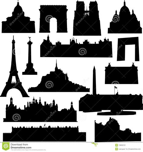 well known architects well known french architecture stock image image 13859101