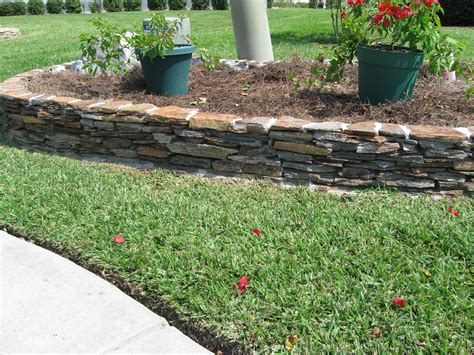 Garden Edging Stones by Lances Landscaping Planning Consultation Services All