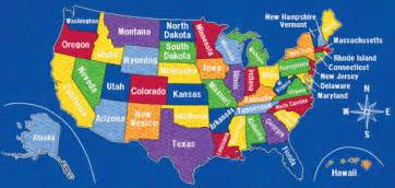 United States Map For Kids by Us Maps With States For Kids Www Imgarcade Com Online