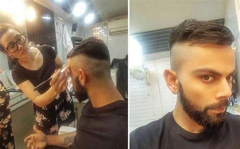 new haircut story hair trend alert virat kohli changes his look finally