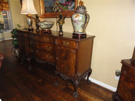 Antique Dining Room Furniture For Sale Romweber Chippendale 12 Dining Room Suite Mahogany For Sale Antiques Classifieds