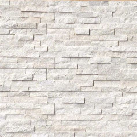 arctic white ledger panel natural quartzite wall tile contemporary wall and floor tile by
