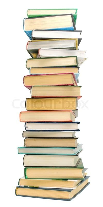 pictures of piles of books big pile of books on a white background stock photo