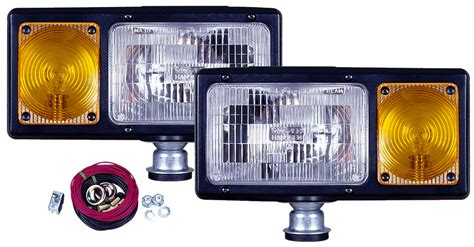 snow plow lights blade lights 174 505k complete snow plow light kit foxtail