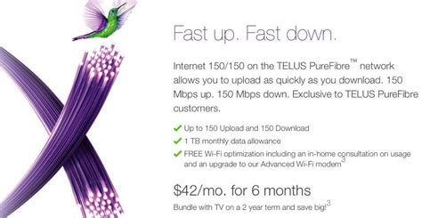 telus new year promotion telus purefibre launches in edmonton along with