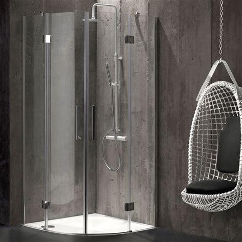 box doccia senza telaio box doccia semicircolare 80x80 in cristallo senza telaio