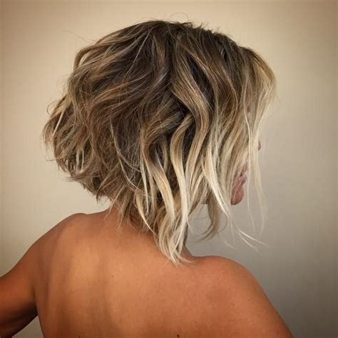 stacked hairstyles for natural waves short stacked bob with short angled bob with blonde