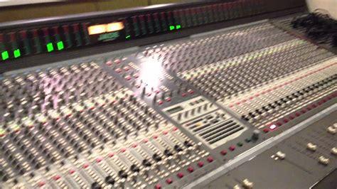 recording mixing console recording studio soundtracs jade mixing console