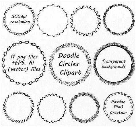 doodle circle of doodle circle clipart circle frames clip png