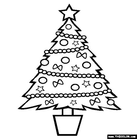 Holiday coloring pages page 1