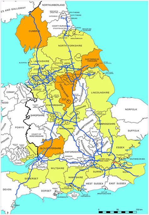 map uk motorways why are motorways in the of the country safer than