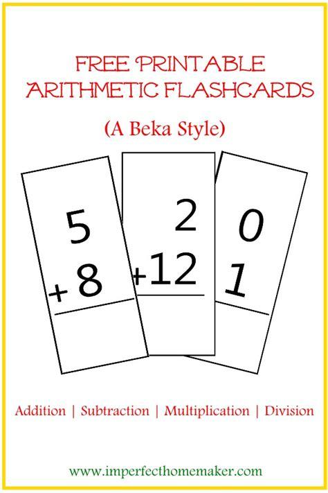 Flashcards Printable