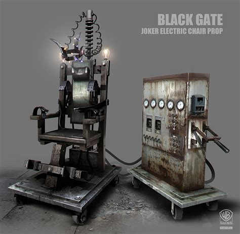 Electric Chair Prop Electric Chair Games Artwork
