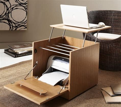 laptop cabinet desk 5 ideas to organize compact workspace at home digsdigs