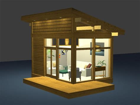 eco friendly modern studio kit by lindal cedar homes