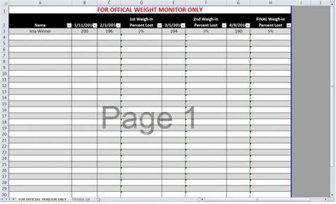 Loser Excel Spreadsheet by Loser Spreadsheet