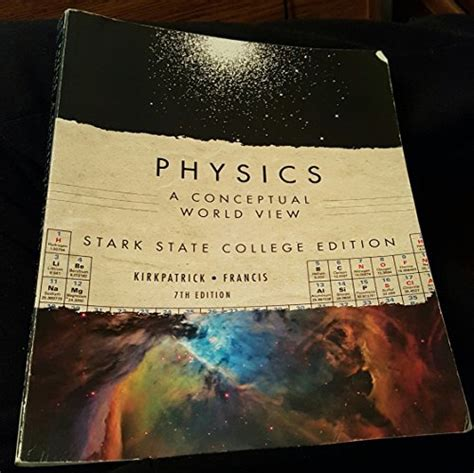 physics a conceptual world view 7th edition available 2010 titles enhanced web assign bair just launched on in usa