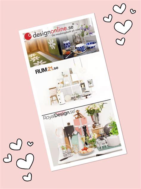 design online rabattkod mina 3 favorit inredningsbutiker netti starby