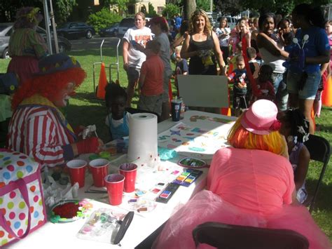 paint nite rockford il hire pickles the clown company children s