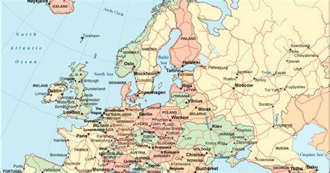 map of europe in detail maps of europe countries maps of europe details informations