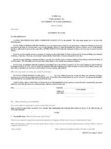 statement of claim template statement of claim form 2 free templates in pdf word