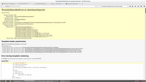 django tutorial templatedoesnotexist django templatedoesnotexist extends quot base html