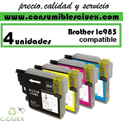 Tinta Lc 535x Colour Magenta tinta compatible lc985 pack ahorro