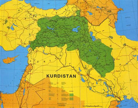 kurdistan map kurdistan european voluntary service