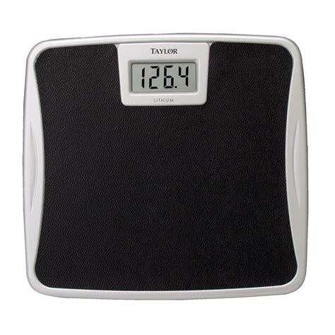 taylor digital bathroom scale taylor digital bath scale 73294072 the home depot