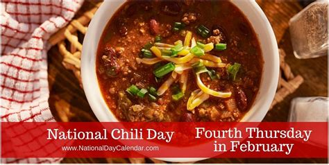 national chili day happy national chili day ranch events
