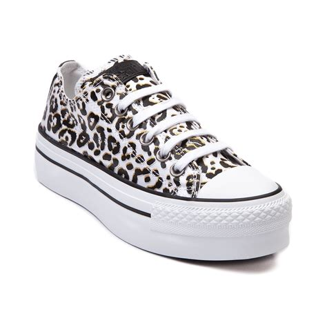 womens converse all lo platform sneaker white