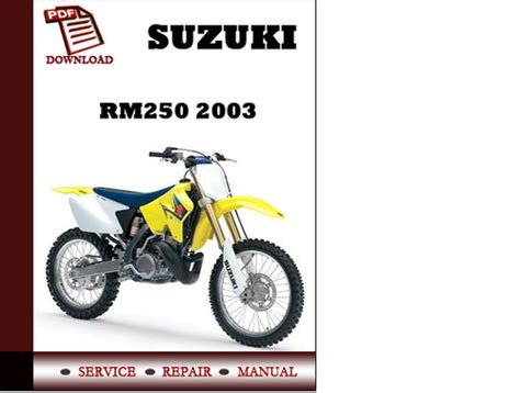 how to download repair manuals 2003 suzuki grand vitara electronic toll collection suzuki rm250 2003 workshop service repair manual pdf download dow