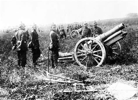 french 75 gun 11 august 1914 the last charge the great war blog