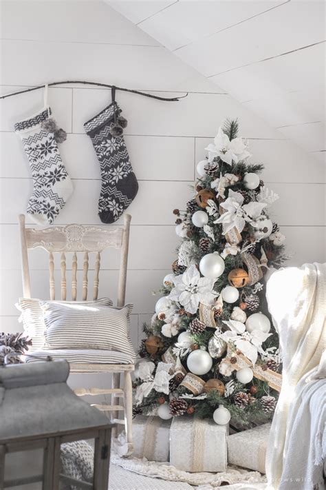white and cream bedroom white and cream christmas bedroom love grows wild
