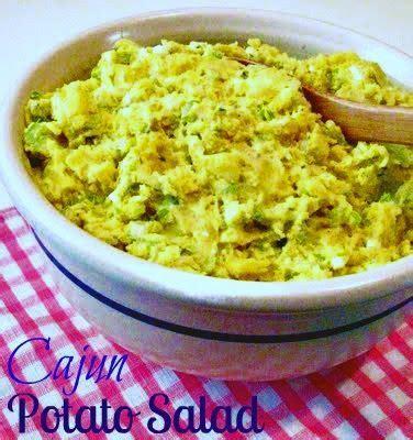 spicy cajun potato salad a different twist on potato